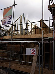 Timber Frame in Progress